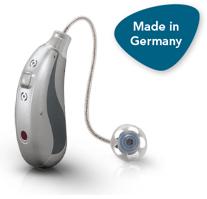 Hansaton Hörgerät mit induktiver Accu-Technologie