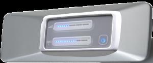 Dieses Gerät wird am TV angeschlossen und überträgt das Tonsignal direkt in die Hörgeräte