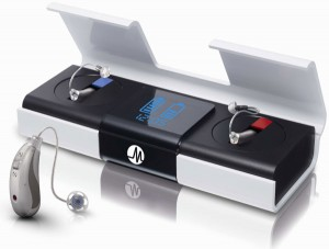 Mediline Energy 4 Plus Hörgerät mit Ladestation