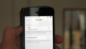hoergeraet mit iPhone koppeln