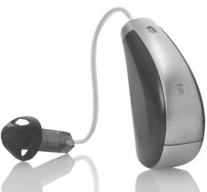 """Das Halo von Starkey für 13er Zink-Luft Batterie und Ex-Hörer. """"Made for iPhone"""""""