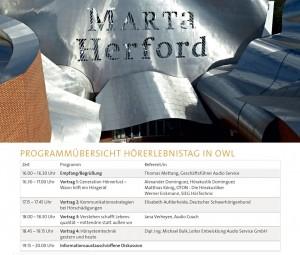 Programm MARTa Herford 03. März 2016