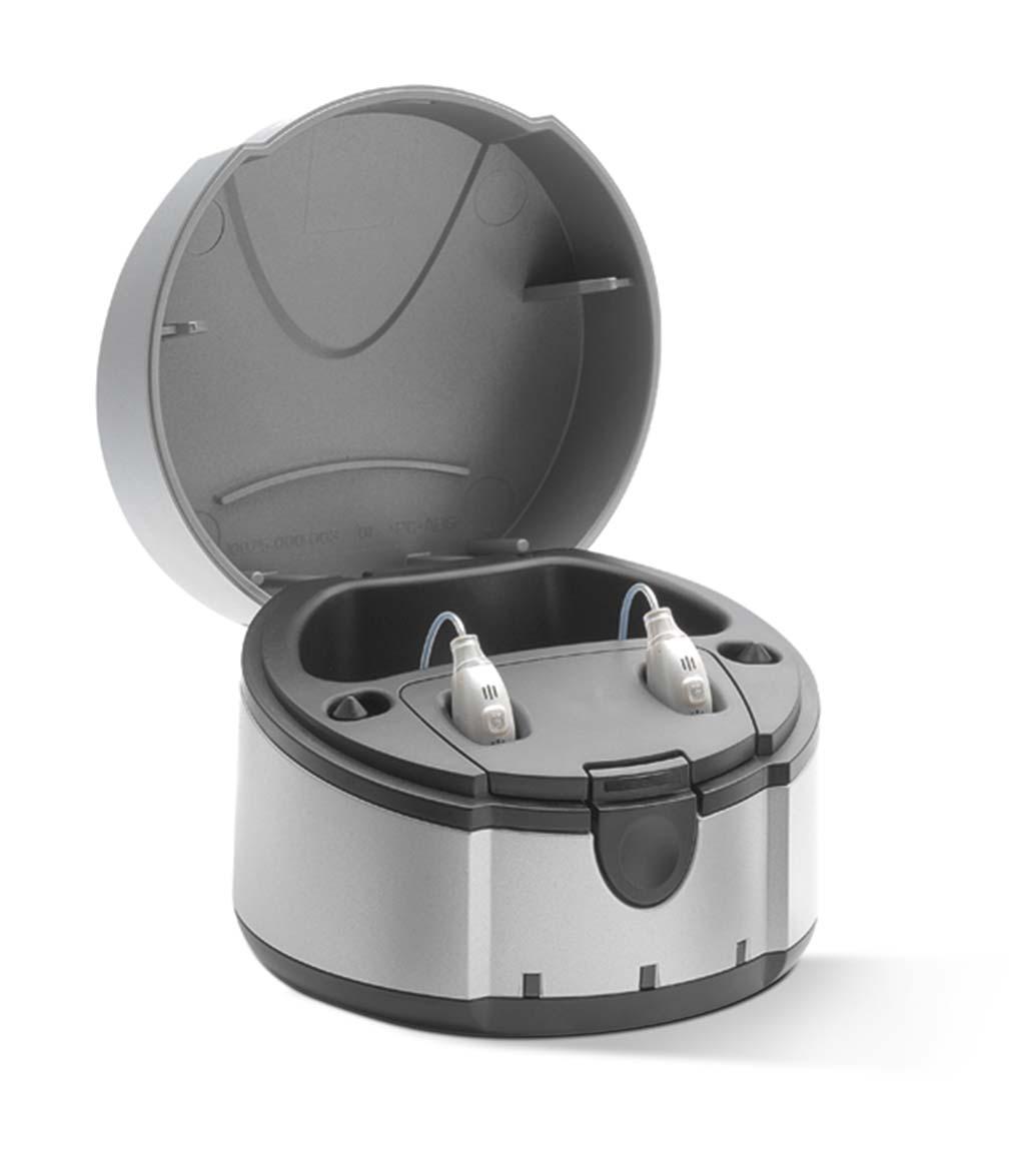 eCharger mit Hörgeräten